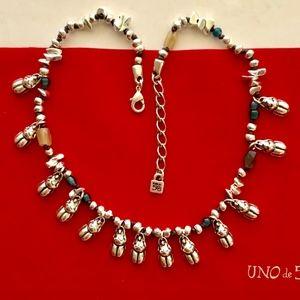 """NWT! UNO de 50 Necklace """"Almost Nothing"""" COL1081."""